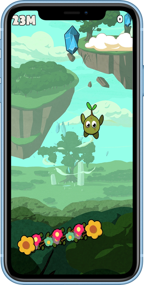 jeux vidéo seedly bounce gameplay